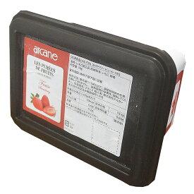 【冷凍】AC FZN ストロベリーピューレ 1kg(いちご・イチゴ・苺・フレーズ)