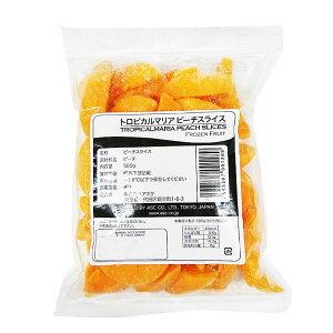 【割引価格】【冷凍】トロピカルマリア ピーチスライス(桃/もも) 500g