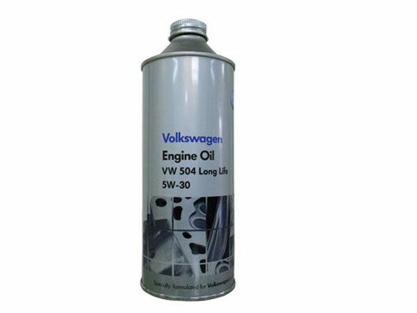 VW/フォルクスワーゲン 純正 ロングライフエンジンオイル 0.5L缶(500ミリリットル缶) 504 00