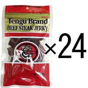 テングビーフジャーキー レギュラー100g×24袋セット(国産品)