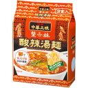 明星 中華三昧 赤坂榮林(エイリン)酸辣湯麺スーラータンメン 24食入