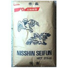 日清製粉 特雀 25kg (高級生茄麺・乾麺用粉-業務用中力粉)