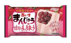 丸永製菓 あいすまんじゅう 博多あまおう いちご 20個