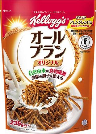あす楽 ケロッグ オールブラン 235g 12袋入 北海道・沖縄県・九州へは別途送料となります。