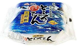 【送料無料】森こん 霊峰白山伏流水 のどごし ところてん ブルーパック 150g×30個