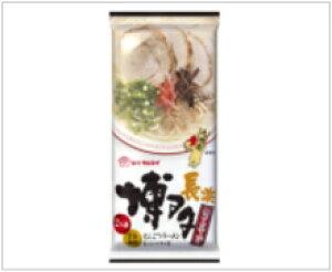 マルタイ 博多醤油とんこつラーメン ノンフライ 細麺仕上げ 2人前(めん73g×2)