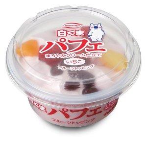 丸永製菓 九州名物 白くまパフェ いちご 24個入