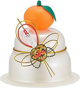 サトウの鏡餅 福餅入り鏡餅小飾り 鶴橙付き 30個入