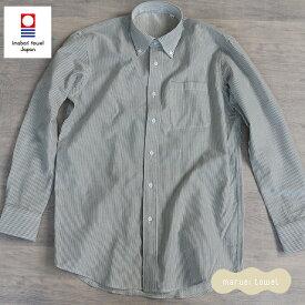 今治タオルのシャツ メンズ パイルシャツ(ボタンダウン)ブランド シャツ メンズ 送料無料 ギフト 男性用 紳士用 今治タオル認定パイルシャツ カジュアル フォーマル