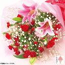 オリエンタルユリの花束【母220】
