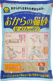 常陸化工(株)おからの猫砂せっけんの香り6L×4個