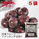 ハーダース IQFフルーツ アメリカンチェリー500g×5袋セット(2.5kg)本州は送料無料でこの価格!冷凍食品 スムージー ジャム アイス タ…