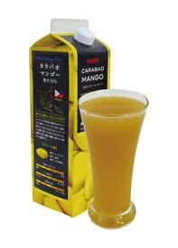 カラバオ・マンゴー 果汁30% ドリンク【業務用1,000ml×12本入】本州は送料無料でこの価格!