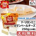 ★冷蔵便 無料発送♪ COEUR DE LION ミニ カマンベールチーズ 250g(10個)★ チーズ ドリヨン カマンベール ワイン コ…