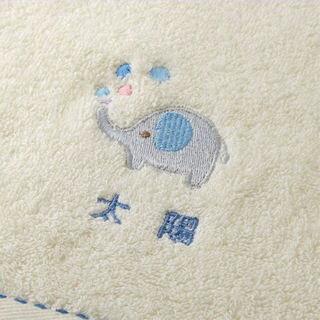 出産祝いオーガニックコットンフード付きバスタオル