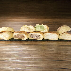 エントリーでP5倍 [広島]〈八天堂〉くりーむパン・メロンパン詰合せ のし・包装不可  エントリーでポイント5倍!(4月1日1時59分迄)