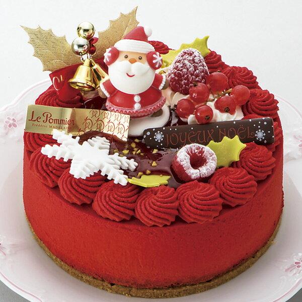 クリスマスケーキ 予約 2018 送料無料 パティスリー ル・ポミエ ノエル プール モア のし・包装不可