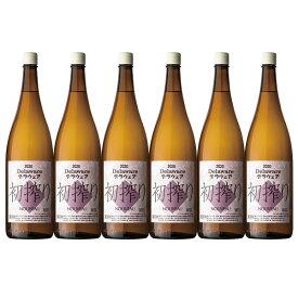 塩山洋酒醸造2021デラウェア初搾り 一升瓶 6本セット エントリーでポイント5倍(9月24日1時59分迄)