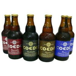 PCエントリーでP10倍 コエド COEDO コエドビール 瓶6本セットPCエントリーで ポイント10倍 (12月1日9時59分迄)