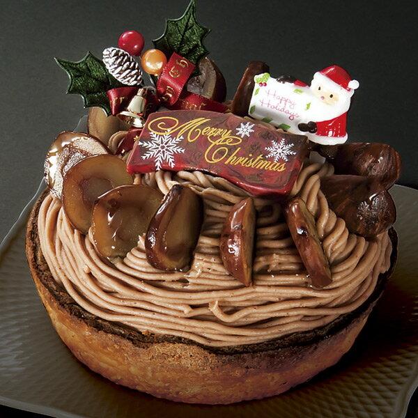 クリスマスケーキ 予約 2018 送料無料 パティスリー1904ディズヌフソンキャトル クリスマスモンブラン のし・包装不可