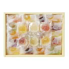ギフト 贈り物 彩果の宝石 フルーツ&フラワーゼリーコレクション FF25