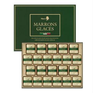 メリーチョコレート マロングラッセ(22個入) ギフト ギフト