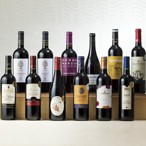 ヨーロッパ各国金賞受賞赤ワイン12本セット のし・包装不可