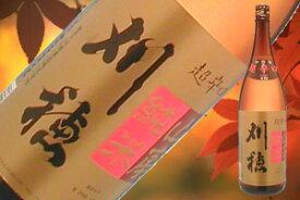 刈穂 山廃純米超辛口+12 1800ml