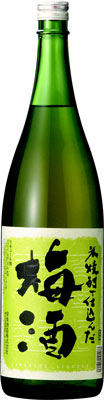 常楽酒造米焼酎で仕込んだ梅酒1800ml