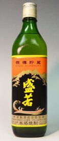 (東京)盛若 樫樽貯蔵 麦焼酎 25度 700ml 神津島酒造