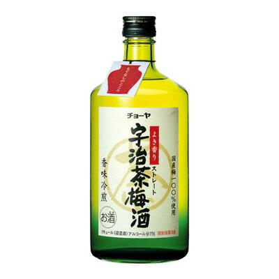 s【送料無料6本入りセット】チョーヤ 宇治茶梅酒 720ml アルコール分:7%