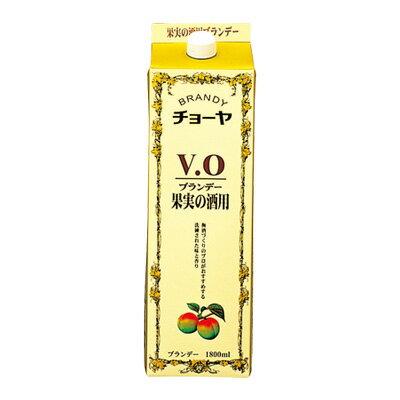【送料無料12本入りセット】チョーヤ ブランデー VO パック 1800ml アルコール分:37%