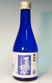s【送料無料24本入りセット】(石川)萬才楽 吟醸 菊のしずく 300ml