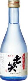 s【送料無料24本入りセット】(長野)七笑 純米酒 300ml