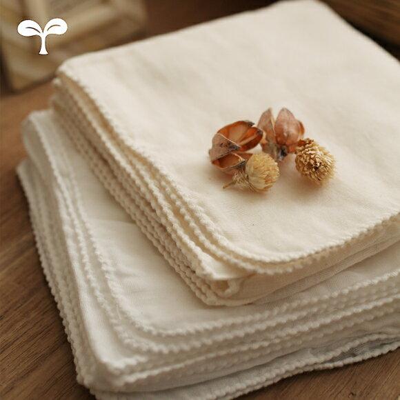 ガーゼ 沐浴布 ベビー 生成り ホワイト 日本製 ファブリックプラス Fabric plus[コットンガーゼ(80本ガーゼ)沐浴布 2枚入り]