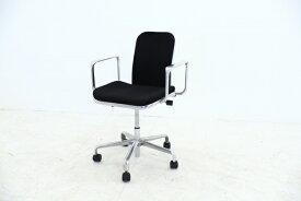 国内流通僅少 超希少 イギリス製 hille社 フレッド・スコット「Support Task Chair」デスクチェア オフィスチェア 回転椅子 アームチェア【中古家具/中古インテリア/USED家具ユーズド家具/リサイクル】