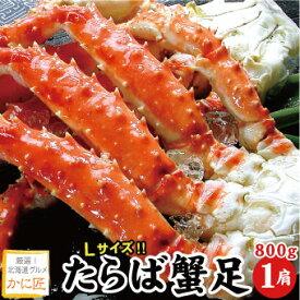 タラバガニ脚 たらば蟹 たらばがに 足のみ 800g×1肩