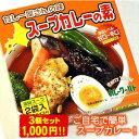 カレー屋さんの味 スープカレーの素 濃縮スープ2袋入×3個セット MIXスパイス付【メール便 送料無料】