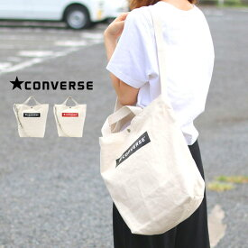 コンバース ショルダーバッグ トートバッグ メンズ 夏 綿100% ホワイト/レッド