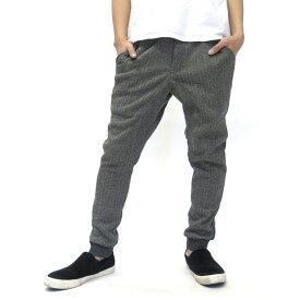 全品送料無料 パンツ メンズ 冬 裏起毛 グレー/ブラック M/L/LL