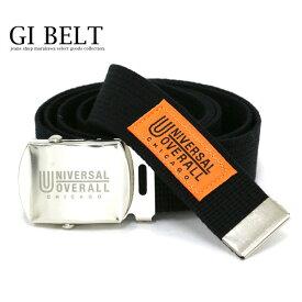 UNIVERSAL OVERALL ベルト メンズ 冬 アクリル100% ホワイト/ブラック/レッド/ネイビー 全長134.2cm