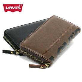 Levis 財布 メンズ 春 合成皮革 ブラック/ブラウン