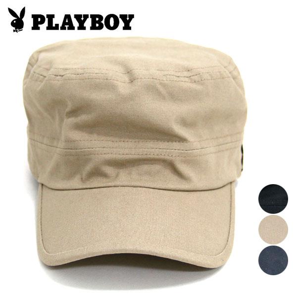【PLAYBOY】【帽子】プレイボーイ ロゴ ワークキャップ キャップ 帽子 ロゴ 刺繍 キャップ CAP メンズ レディース 男女兼用 キャップ 帽子 ワークキャップ 人気 メンズ カジュアル シンプル おしゃれ ロゴ プレイボーイ【新作】