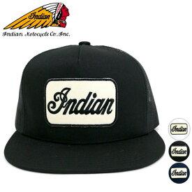【Indian】【帽子】メッシュ ベースボール キャップ 帽子 ロゴ 刺繍 キャップ CAP メンズ レディース 男女兼用 キャップ 帽子 キャップ 人気 メンズ カジュアル シンプル ロゴ メッシュ インディアン モトサイクル マルカワ
