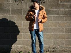 大きいサイズメンズ中綿フェイクレザーフードファージャケット【キングサイズ2L3L4L5Lマルカワアウタージップパーカーブルゾンシンプルきれいめ清潔感】