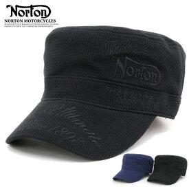全品送料無料 NORTON 帽子 メンズ 夏 綿100% ブラック/ネイビー