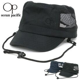 OCEAN PACIFIC 帽子 メンズ 夏 ポリエステル100% ブラック/ネイビー