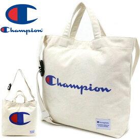 チャンピオン バッグ メンズ 夏 綿100% ホワイト