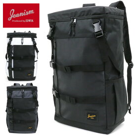 JEANISM produced by EDWIN バッグ メンズ 夏 ポリエステル100% 容量25L ホワイト/グレー/ブラック