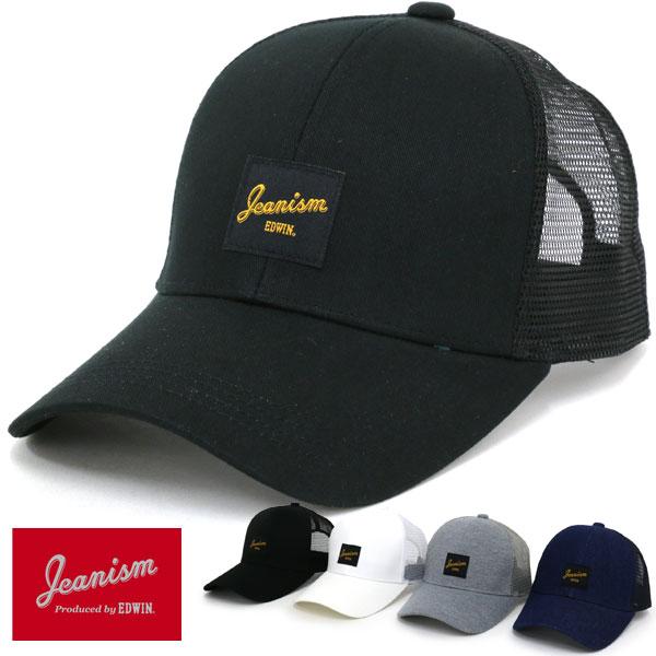 JEANISM EDWIN 帽子 メンズ 夏 綿 ポリエステル レーヨン ホワイト/グレー/ブラック/ネイビー